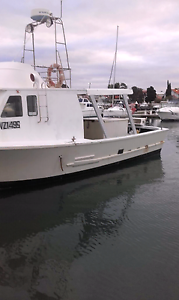 Converted ex cray fishing boat Williamstown Hobsons Bay Area Preview