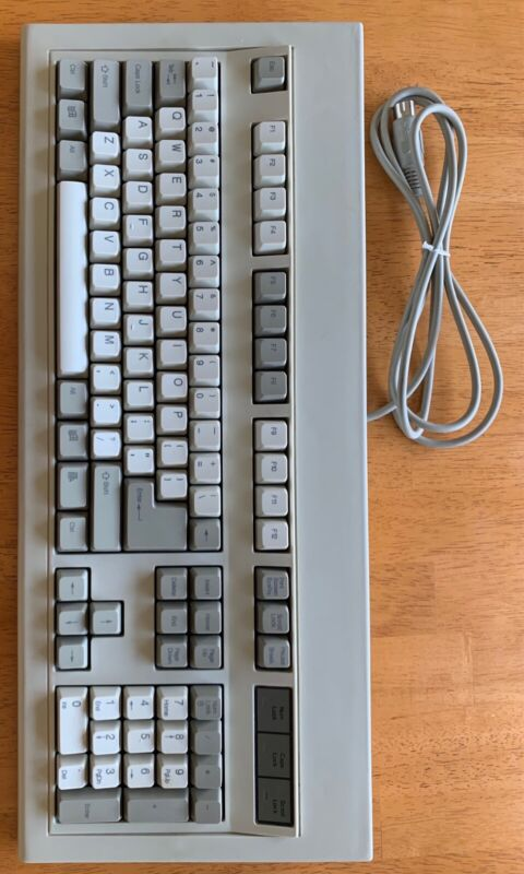 Chicony KB-5981 Monterey Blue (SMK 2nd Generation) Clicky -Windows keys! Refurb