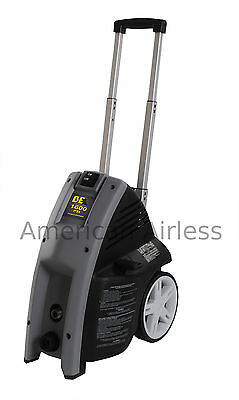 Be Electric Pressure Washer 1600psi 1.5gpm 1.3 Hp Motor Foam Dispenser