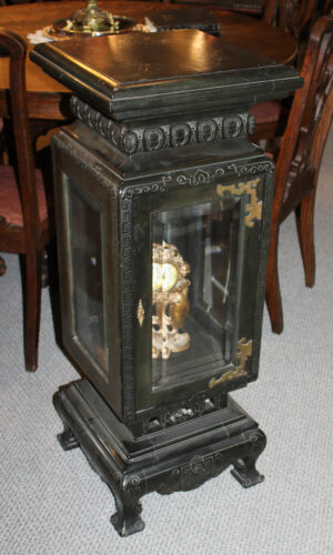 Antique Victorian Asthetic Eastlake designed Pedestal with Display Sectional - U