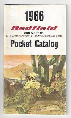 Redfield Pocket Catalog - 1966