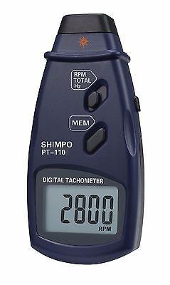 Shimpo Pt-110 Non-contact Tachometer