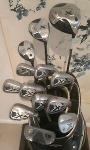 Callaway X20 golf clubs: mens RH, plus 1, S flex