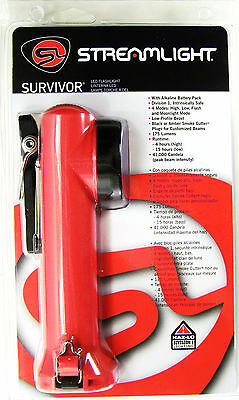 Streamlight Survivor 6.75 inch LED flashlight Firefigher Fire Police EMT Rescue