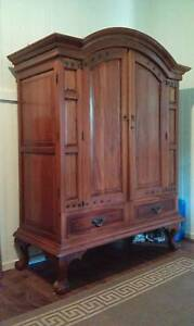 Balinese Entertainment Unit or Wardrobe Palmwoods Maroochydore Area Preview