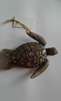 Sea Turtle Tiki Bar & Christmas Ornament Beach Tropical Nautical Decor ST004