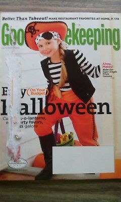 GOOD HOUSEKEEPING MAGAZINE - HALLOWEEN, TAKEOUT FOOD AT HOME - OCTOBER 2009 - At Home Halloween