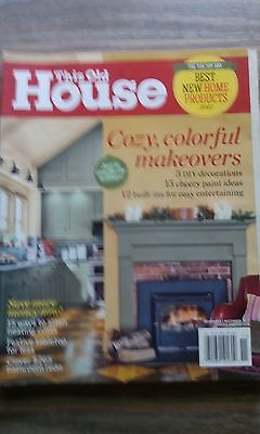 This Old House Monthly Magazine  Best New Home Products  November December 2012