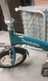 BICYCLE  MAKITA BATTERY  POWERED WITH 2 SPARE BATTERIES +CHARGER Sylvania Sutherland Area Preview