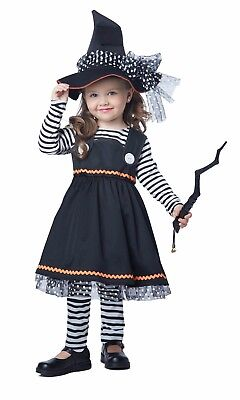 Adorable Crafty Little Witch Wizard Toddler Costume - Toddler Witch Costume