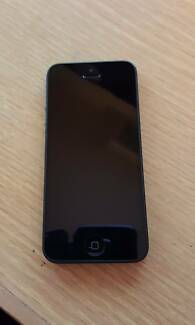 Black iPhone 5 64 GB - Perfect Condition West Melbourne Melbourne City Preview