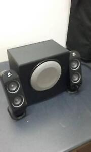 Logitech X-230 Speakers and Subwoofer Braybrook Maribyrnong Area Preview