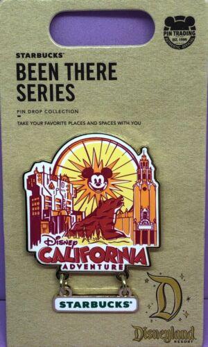Disney California Adventure Starbucks Been There Series Pin NEW