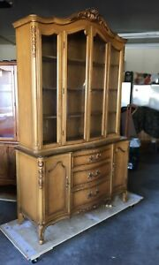 Gorgeous Antique French Louis XV Buffet/Hutch