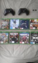 Xbox One Console with 21 games (After glow headset) Morphett Vale Morphett Vale Area Preview