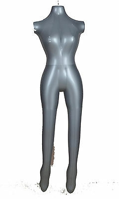 Inflatable Mannequin Torso Underwear Display Pvc Female Part Body 1015hook