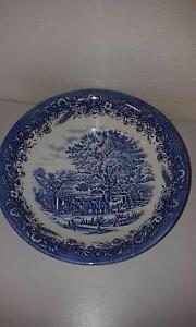 Willow Pattern Dinner Set from Churchill England Woodberry Maitland Area Preview