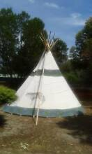 18ft Tipi with Poles The Vines Swan Area Preview