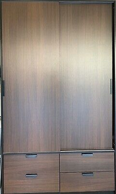 Wooded wardrobe closet