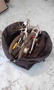 Foldup bike transport bag