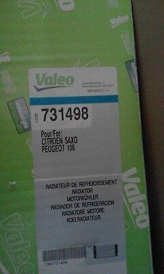 Engine Radiator VALEO 731498 for Citroen Saxo ,  Peugeot 106