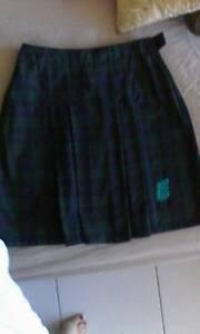 Elanora State high school uniform.girls tartan skirt senior Palm Beach Gold Coast South Preview