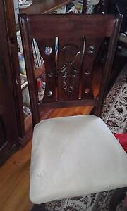 wooden dining table & 8 chairs Two Wells Mallala Area Preview