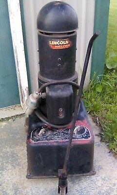 Vtg 1954 Lincoln Welder Dc-250-mk Stick Welder 220 3 Phase Great Shape Rolls
