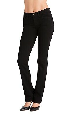 J Brand Jeans Cigarette Leg In Shadow Black Size 30 Straight Leg Stretch -