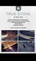 True Stone Cleaning and Joint Sand, Repair, installation