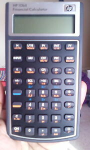 Hp Financial Calculator with pouch