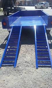 blyth built 10*5 heavy duty electric brakes with extra heavy ramp Blyth Wakefield Area Preview