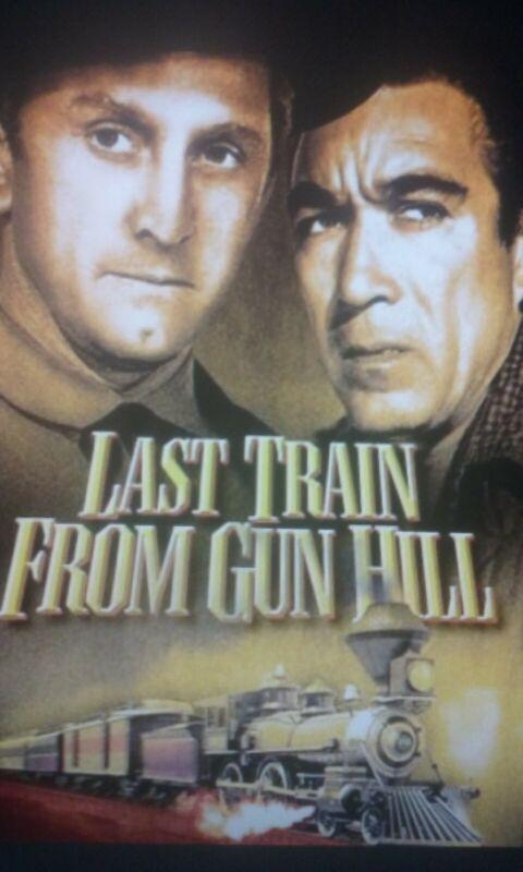 LAST TRAIN FROM GUN HILL. ..SUPER 8 FEATURE. ..COLOR/SOUND