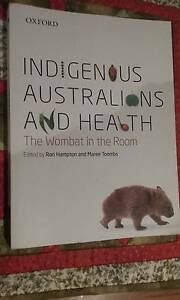 Indigenous Australians and Health - The Wombat in the Room - $45 Wollongong Wollongong Area Preview