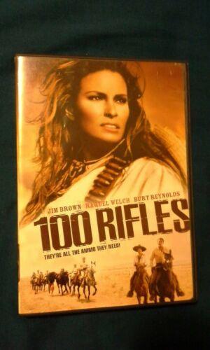 100 Rifles Dvd FLAWLESS - $15.99