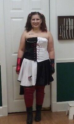 Harley Quinn Custom Made Halloween Costume