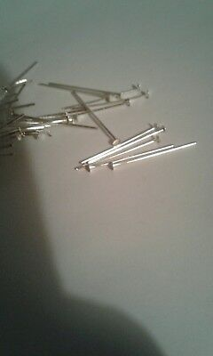 - 20 1 Inch Silver Like Head Pins