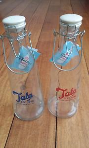 NEW Tala vintage glass milk bottles Portarlington Outer Geelong Preview
