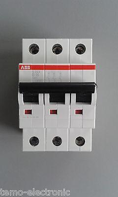 ABB S203 B oder C - LS-Schalter-Sicherungsautomat-Leitungsschutzschalter-3 POLIG