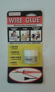 Highly Conductive Wire Glue / Paint for AC/DC - NO Soldering Iron - free post