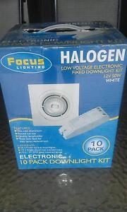 Low voltage Halogen fixed down light, 6 x 10 Pack kits Richmond Hawkesbury Area Preview