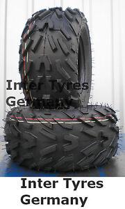 ATV Quad Kinderquad Geländereifen 2x 16x8-7 16x8.00-7 HAKUBA P329 4PR NEU