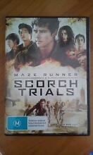 Maze runner - The Scorch Trials DVD Medowie Port Stephens Area Preview