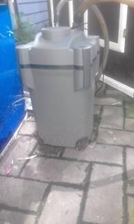 4ft fish tank with stand/lid,