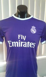 REAL MADRID PURPLE ADULT JERSEYS FROM SOCCER PLANET