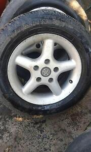 Holden Commodore speedy alloy mag wheels x 5 Tahmoor Wollondilly Area Preview