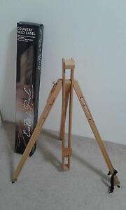 CANVAS WOODEN STAND-Country Field Easel Cannington Canning Area Preview