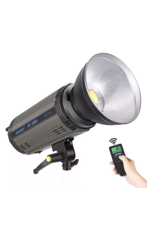 Neewer HY-1000 100 Watt Dimmable LED Video Light with Remote Control for Studio