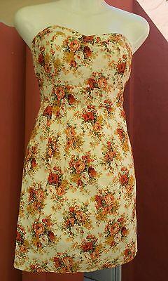 Vestido sexy talla S mini falda pinup noche boda fiesta vintage pin up dress