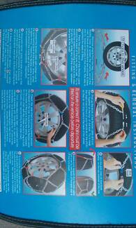Snow Chains - V2 Traction KN80